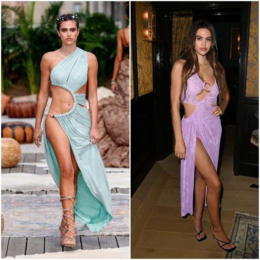 Amelia Hamlin models