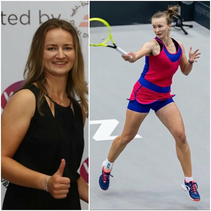 Barbora Krejčíková tennis player