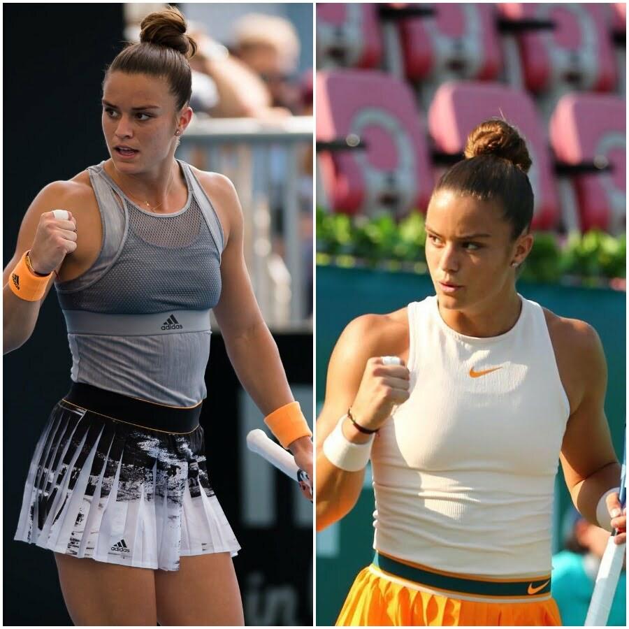 Maria Sakkari Greek tennis player