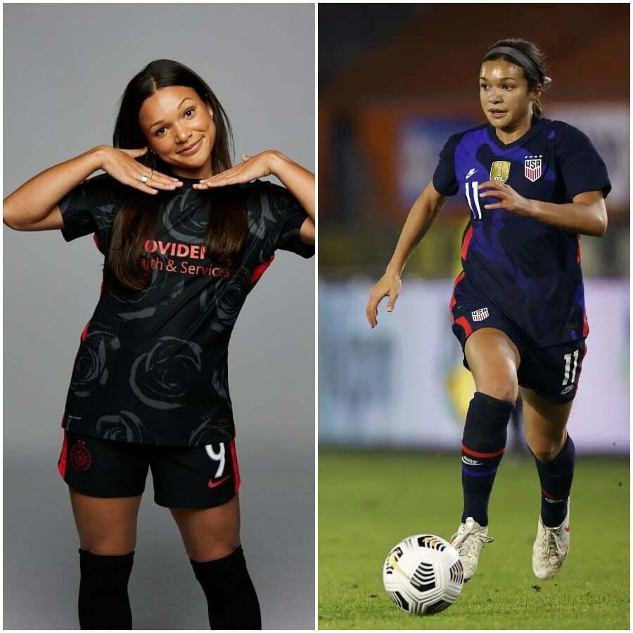 Sophia Smith Soccer Player