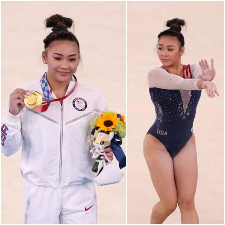 Suni Lee American gymnast